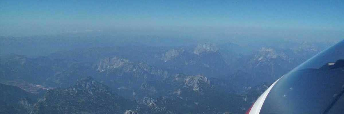Flugwegposition um 09:36:48: Aufgenommen in der Nähe von Gußwerk, Österreich in 4128 Meter