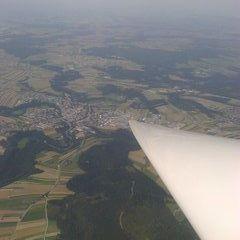 Flugwegposition um 12:54:29: Aufgenommen in der Nähe von Gemeinde Großgöttfritz, Österreich in 2326 Meter