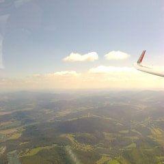 Flugwegposition um 12:23:33: Aufgenommen in der Nähe von Okres Prachatice, Tschechien in 1649 Meter