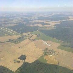 Flugwegposition um 13:11:35: Aufgenommen in der Nähe von Okres Tábor, Tschechien in 1819 Meter
