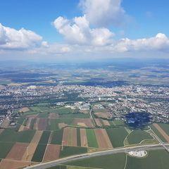 Verortung via Georeferenzierung der Kamera: Aufgenommen in der Nähe von Gemeinde Pyhra, Pyhra, Österreich in 1100 Meter