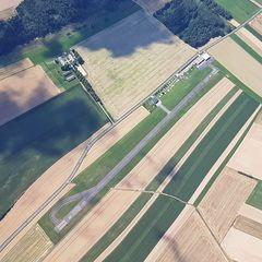 Verortung via Georeferenzierung der Kamera: Aufgenommen in der Nähe von Gemeinde Dobersberg, Österreich in 1900 Meter