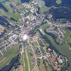 Verortung via Georeferenzierung der Kamera: Aufgenommen in der Nähe von Gemeinde Litschau, Österreich in 1700 Meter