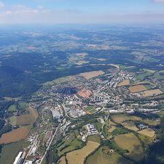 Verortung via Georeferenzierung der Kamera: Aufgenommen in der Nähe von Okres Prachatice, Tschechien in 1800 Meter