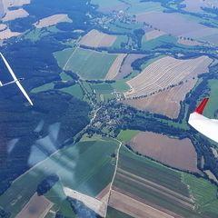 Verortung via Georeferenzierung der Kamera: Aufgenommen in der Nähe von Okres Pelhřimov, Tschechien in 0 Meter