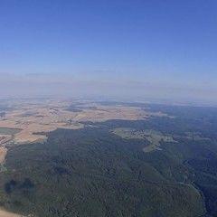 Flugwegposition um 14:53:05: Aufgenommen in der Nähe von Okres Znojmo, Tschechien in 1443 Meter