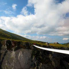 Flugwegposition um 14:10:36: Aufgenommen in der Nähe von Kapellen, Österreich in 1622 Meter