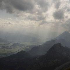 Flugwegposition um 12:42:25: Aufgenommen in der Nähe von Weng im Gesäuse, 8913, Österreich in 2325 Meter