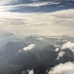 Flugwegposition um 14:59:33: Aufgenommen in der Nähe von Gemeinde Mühlbach am Hochkönig, 5505 Mühlbach am Hochkönig, Österreich in 2976 Meter