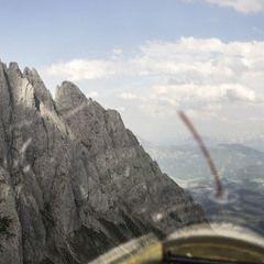 Flugwegposition um 13:44:51: Aufgenommen in der Nähe von Weißenbach bei Liezen, 8940, Österreich in 2060 Meter