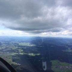 Verortung via Georeferenzierung der Kamera: Aufgenommen in der Nähe von Freyung-Grafenau, Deutschland in 2000 Meter