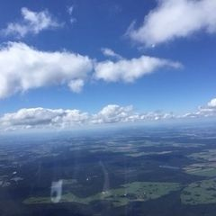 Verortung via Georeferenzierung der Kamera: Aufgenommen in der Nähe von Okres Jindřichův Hradec, Tschechien in 2200 Meter