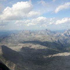 Flugwegposition um 12:48:29: Aufgenommen in der Nähe von Gemeinde Maria Alm am Steinernen Meer, 5761, Österreich in 2919 Meter