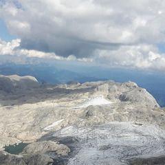 Flugwegposition um 12:41:06: Aufgenommen in der Nähe von Gemeinde Maria Alm am Steinernen Meer, 5761, Österreich in 2968 Meter