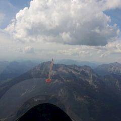 Flugwegposition um 12:52:11: Aufgenommen in der Nähe von Gemeinde Saalfelden am Steinernen Meer, 5760 Saalfelden am Steinernen Meer, Österreich in 2830 Meter