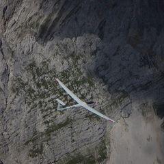 Flugwegposition um 13:25:12: Aufgenommen in der Nähe von Gemeinde Ellmau, Ellmau, Österreich in 2503 Meter