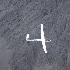 Flugwegposition um 13:25:58: Aufgenommen in der Nähe von Gemeinde Scheffau am Wilden Kaiser, Österreich in 2551 Meter