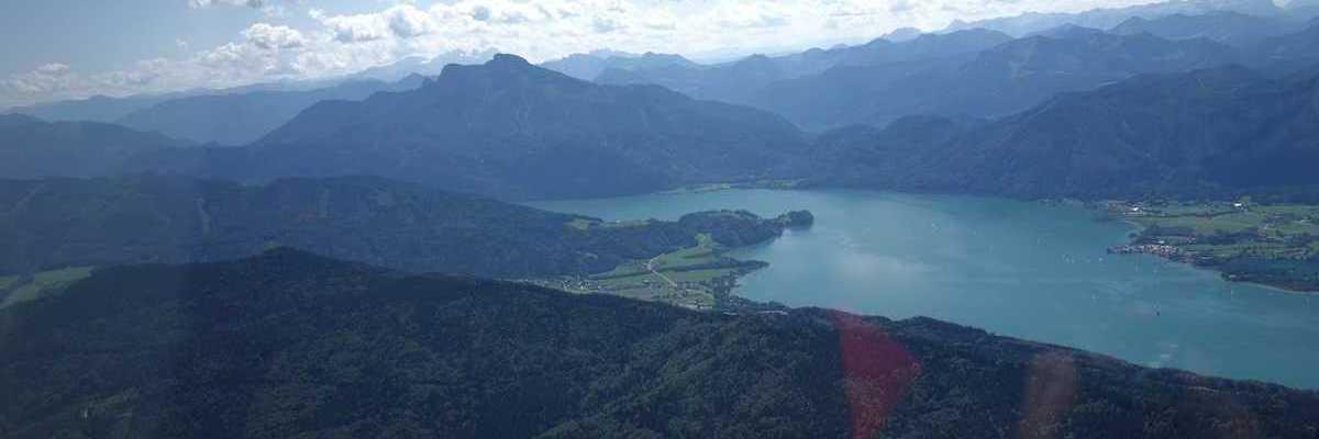 Flugwegposition um 11:05:58: Aufgenommen in der Nähe von Gemeinde Tiefgraben, Österreich in 1307 Meter