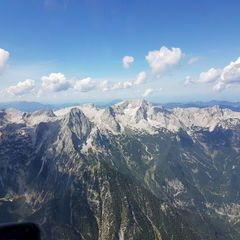 Flugwegposition um 12:17:40: Aufgenommen in der Nähe von Gemeinde Hinterstoder, Hinterstoder, Österreich in 2684 Meter