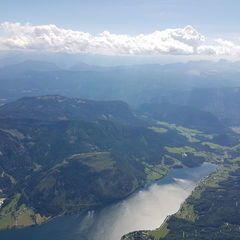 Flugwegposition um 12:39:44: Aufgenommen in der Nähe von Gemeinde Grundlsee, 8993, Österreich in 2993 Meter