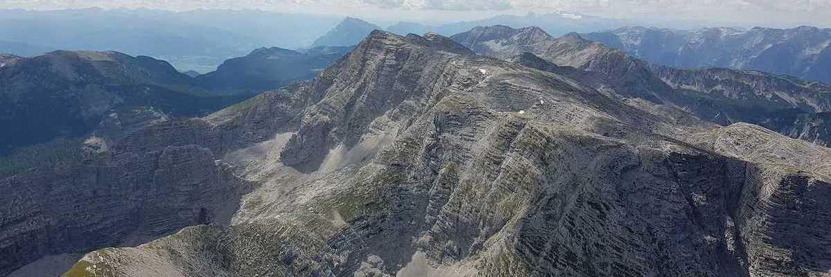 Flugwegposition um 12:06:47: Aufgenommen in der Nähe von Gemeinde Roßleithen, 4575, Österreich in 2342 Meter