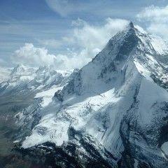 Flugwegposition um 11:57:25: Aufgenommen in der Nähe von 11020 Gressan, Aostatal, Italien in 3431 Meter