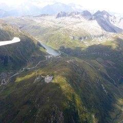 Flugwegposition um 12:55:21: Aufgenommen in der Nähe von Goms, Schweiz in 2948 Meter