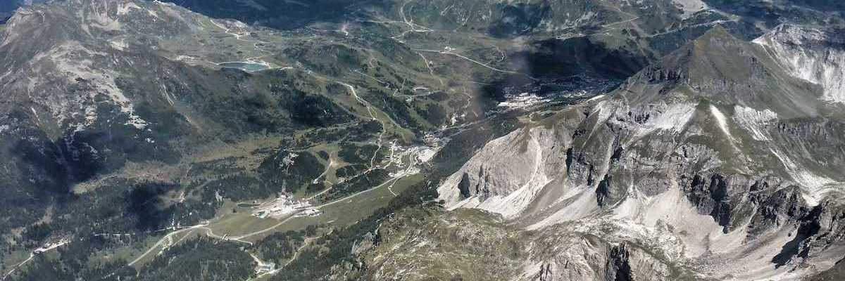 Flugwegposition um 12:41:36: Aufgenommen in der Nähe von Gemeinde Untertauern, Österreich in 2937 Meter