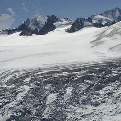 Flugwegposition um 12:40:35: Aufgenommen in der Nähe von Département Haute-Savoie, Frankreich in 2585 Meter