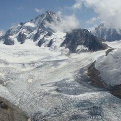 Flugwegposition um 12:42:48: Aufgenommen in der Nähe von Département Haute-Savoie, Frankreich in 2550 Meter