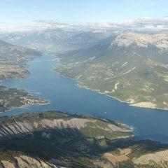 Flugwegposition um 16:35:13: Aufgenommen in der Nähe von Département Alpes-de-Haute-Provence, Frankreich in 3115 Meter
