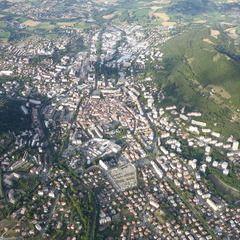 Flugwegposition um 16:49:35: Aufgenommen in der Nähe von Département Hautes-Alpes, Frankreich in 2647 Meter