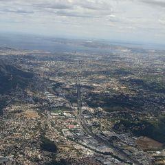 Flugwegposition um 12:15:37: Aufgenommen in der Nähe von Bouches-du-Rhône, Frankreich in 959 Meter