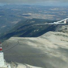 Flugwegposition um 15:44:43: Aufgenommen in der Nähe von Drôme, Frankreich in 2051 Meter
