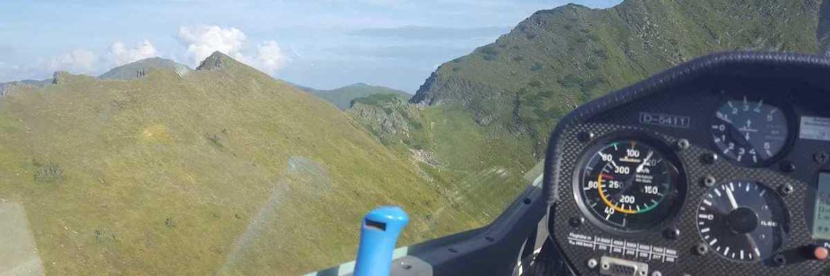 Flugwegposition um 15:56:15: Aufgenommen in der Nähe von Donnersbach, Österreich in 1979 Meter