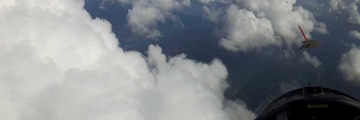 Flugwegposition um 13:46:20: Aufgenommen in der Nähe von Gemeinde Vordernberg, 8794, Österreich in 3050 Meter