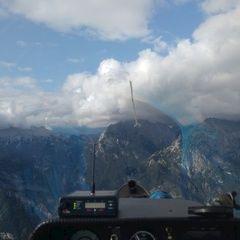 Flugwegposition um 15:19:47: Aufgenommen in der Nähe von Municipality of Bovec, Slowenien in 2320 Meter