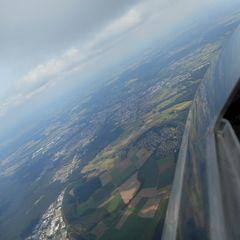 Flugwegposition um 12:05:06: Aufgenommen in der Nähe von Neustadt a.d.Waldnaab, Deutschland in 1935 Meter