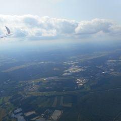 Flugwegposition um 12:08:43: Aufgenommen in der Nähe von Neustadt a.d.Waldnaab, Deutschland in 1653 Meter