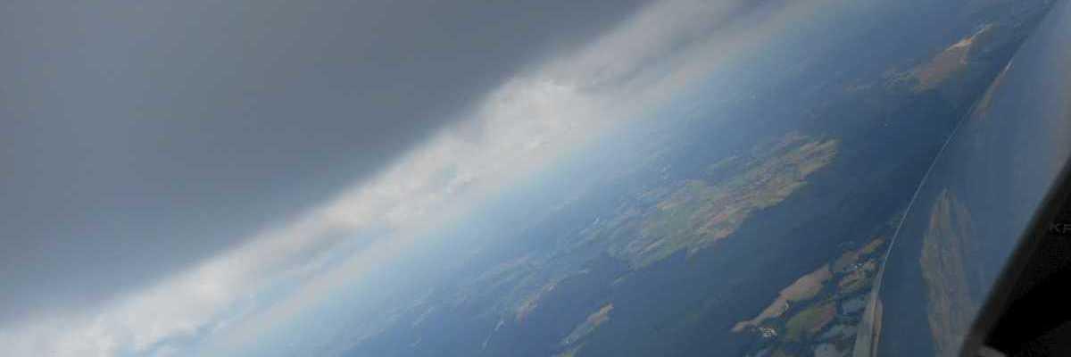 Flugwegposition um 12:04:46: Aufgenommen in der Nähe von Neustadt a.d.Waldnaab, Deutschland in 1907 Meter