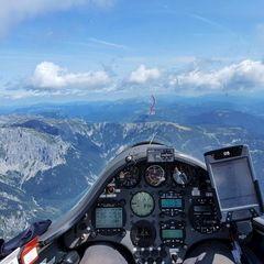 Verortung via Georeferenzierung der Kamera: Aufgenommen in der Nähe von St. Ilgen, 8621 St. Ilgen, Österreich in 2500 Meter