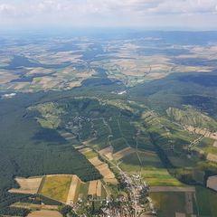 Verortung via Georeferenzierung der Kamera: Aufgenommen in der Nähe von Gemeinde Deutsch Schützen-Eisenberg, Österreich in 1600 Meter