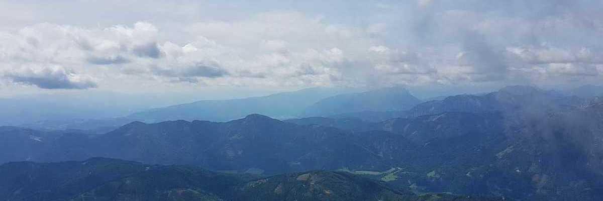 Flugwegposition um 10:41:57: Aufgenommen in der Nähe von St. Ilgen, 8621 St. Ilgen, Österreich in 2206 Meter