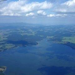 Flugwegposition um 12:57:54: Aufgenommen in der Nähe von Gemeinde Schlägl, Österreich in 1795 Meter