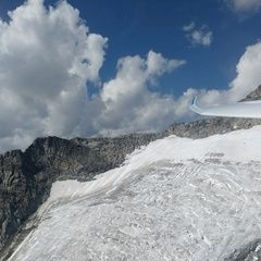 Flugwegposition um 13:08:23: Aufgenommen in der Nähe von 39030 Gemeinde Ahrntal, Bozen, Italien in 2993 Meter