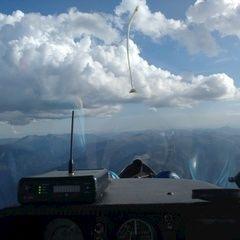 Flugwegposition um 15:26:52: Aufgenommen in der Nähe von Gemeinde Tamsweg, 5580 Tamsweg, Österreich in 2809 Meter