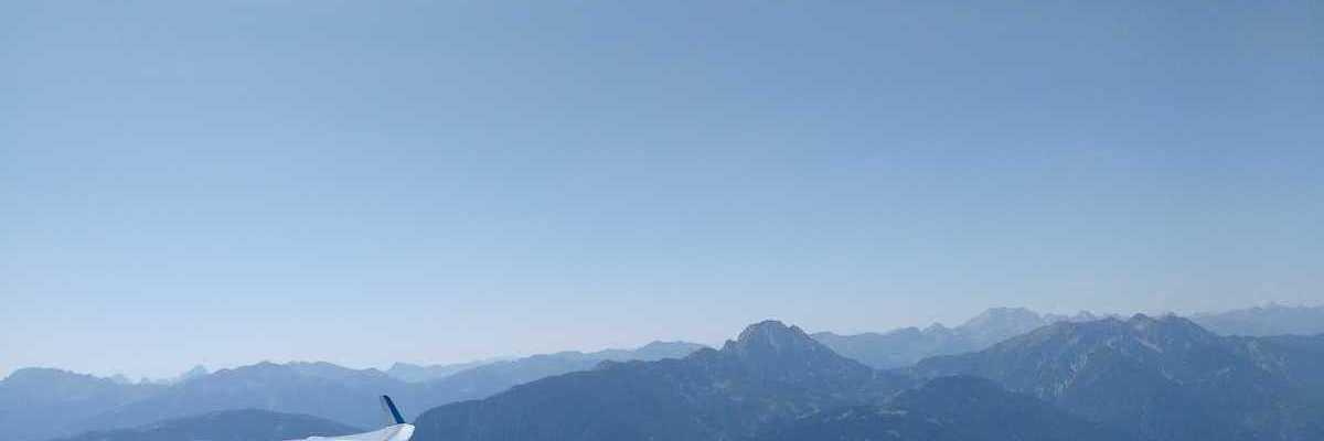 Flugwegposition um 11:13:19: Aufgenommen in der Nähe von Gemeinde Steinfeld, Steinfeld, Österreich in 2127 Meter