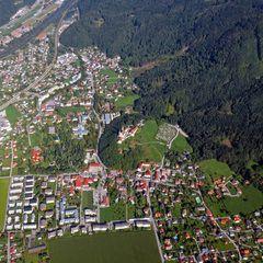 Flugwegposition um 14:04:42: Aufgenommen in der Nähe von Graz, Österreich in 931 Meter
