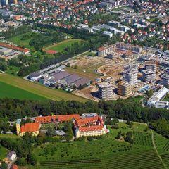 Flugwegposition um 10:45:56: Aufgenommen in der Nähe von Graz, Österreich in 855 Meter