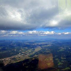 Flugwegposition um 12:02:28: Aufgenommen in der Nähe von Gemeinde Raach am Hochgebirge, 2640, Österreich in 2259 Meter